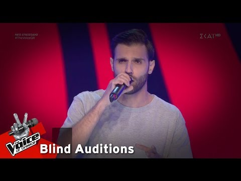 Νίκος Φαρφάς – Μέτρησα | 4o Blind Audition | The Voice of Greece