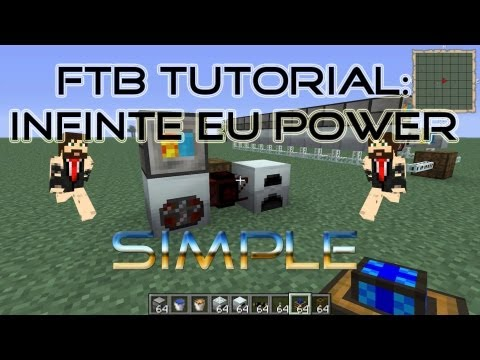 FTB Tutorial: Unlimited Power, Sustainable EU Generator, IC2 & Thermal Exspansion