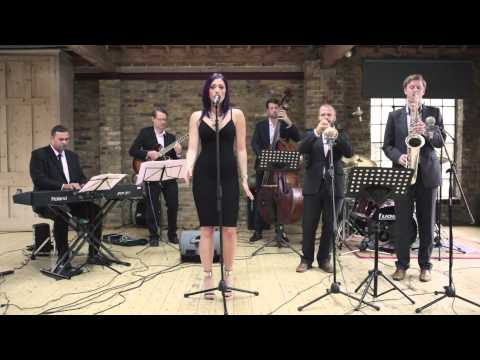 "Swing Band Hire - The Swingin' Times performs ""Moondance"" by Van Morrison"