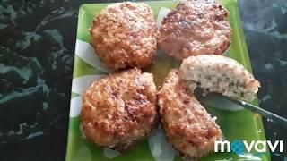 Вкусные и нежные Куриные котлеты на сковородке. Как приготовить сочные котлеты из куриного фарша