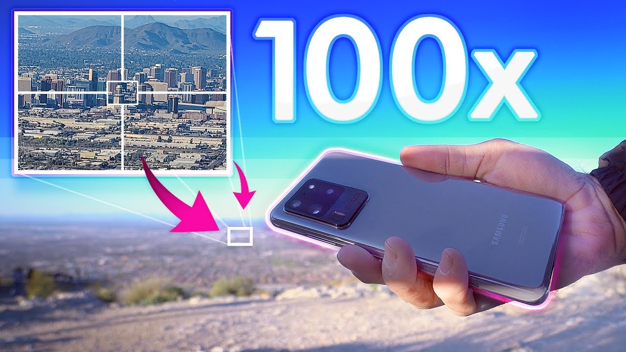 Galaxy S20 Ultra Camera Review: 100x Space Zoom vs 108MP Test!