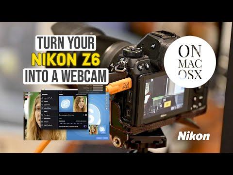 Turn Your Nikon Z6 Into A Webcam On Mac OSX