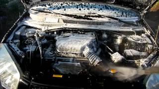 Karcher K 5.55 Jubilee. Мойка двигателя и моторного отсека.