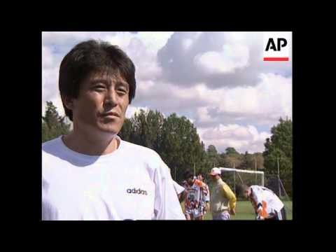 SOUTH AFRICA: SOUTH KOREAN SOCCER TEAM ARRIVE FOR AFRO-ASIAN CUP