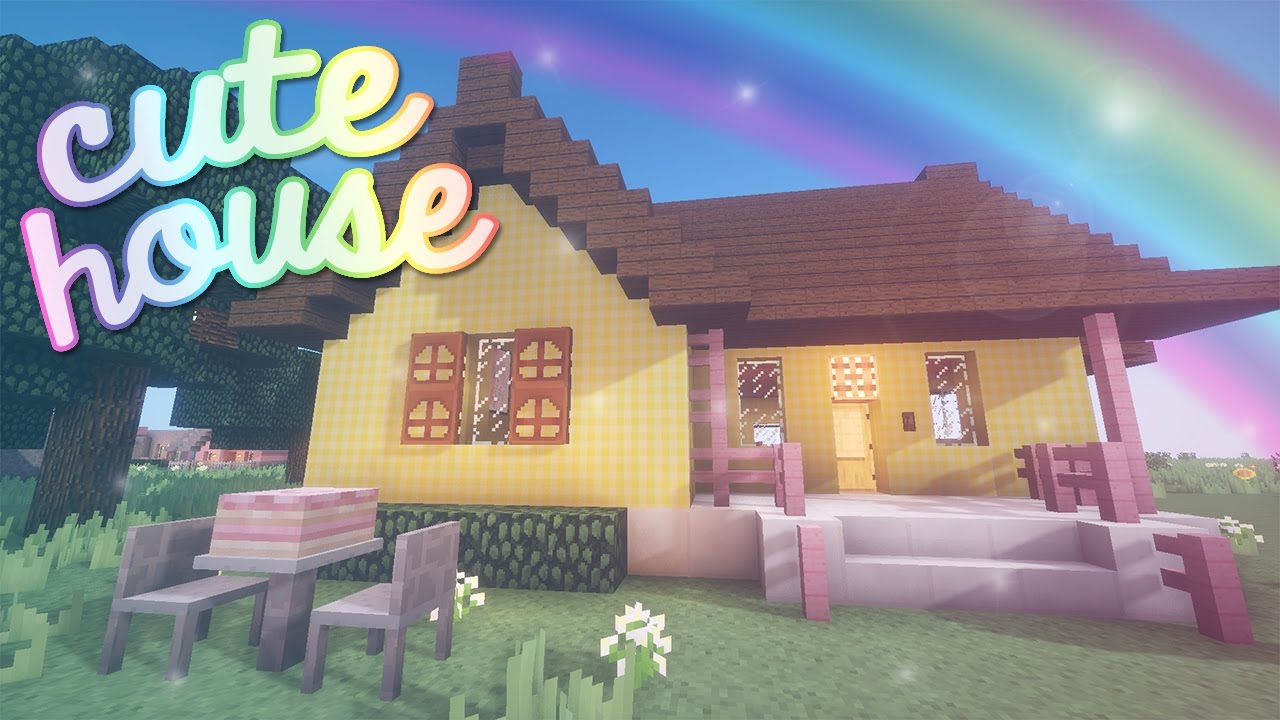 Cute house minecraft youtube for Photos of cute houses