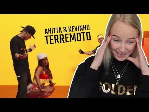 """REAGINDO À """"TERREMOTO"""" Anitta e Kevinho"""