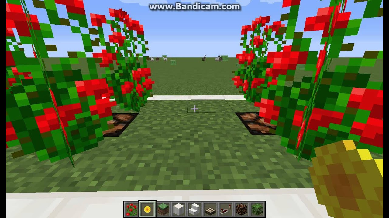 Minecraft Beautiful Garden beautiful garden minecraft build - youtube