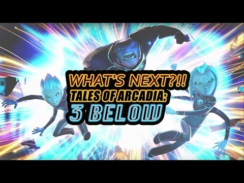 What's Next?!!Tales of Arcadia: 3 Below at New York Comic Con