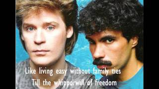 Daryl Hall & John Oates - Philadelphia Freedom lyrics