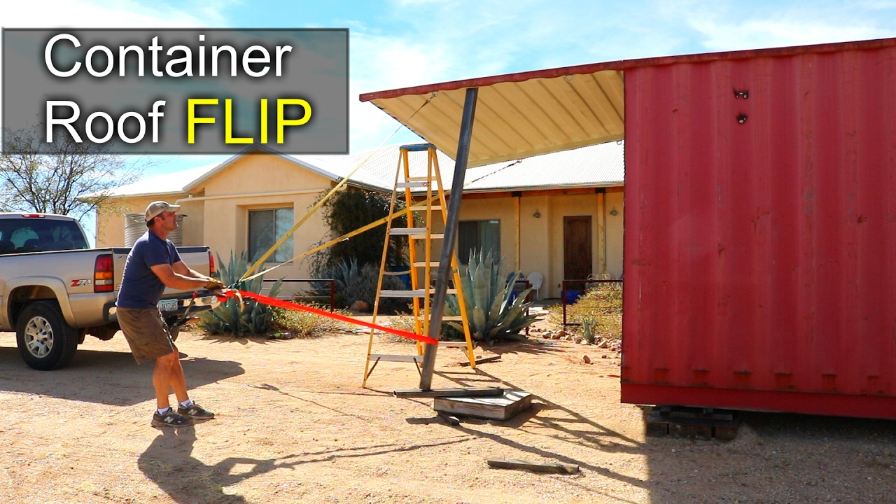 Container Roof Amp Shipping Container Hangar