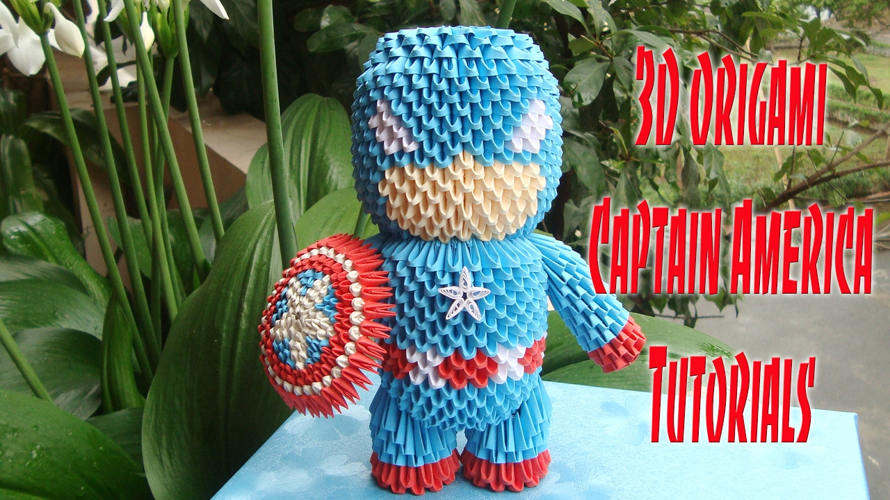 3D Origami Superman by OrigamiProductions on Etsy | 3d origami ... | 720x1280