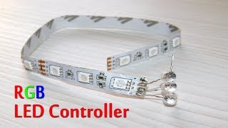 RGB Strip LED Controller Make Very Easy