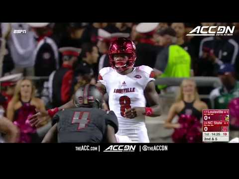 Louisville vs NC State College Football Condensed Game 2017