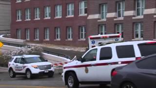 RAW: Ambulance carrying 3rd Ebola patient arrives at Nebraska Medical Center