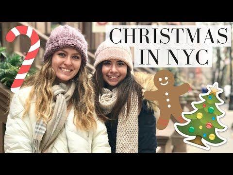 VLOG: CHRISTMAS FUN IN NEW YORK CITY | Alara