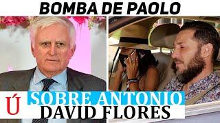 ¡Bomba! Paolo Vasile ficha a Antonio David Flores para Telecinco según Carlos Sobera?