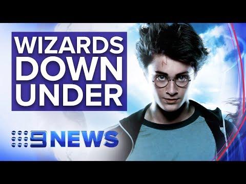 Largest Harry Potter Store Opens In Melbourne | Nine News Australia