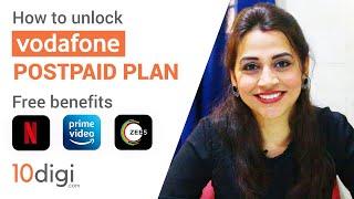 How to Unlock Vodafone Postpaid Plan Free Benefits || Free Netflix, Amazon Prime, Zee5