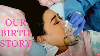 Emotional Labor & Delivery Vlog | Dhar And Laura