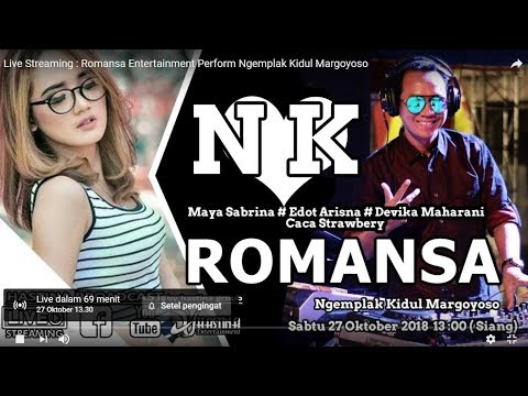 Live Streaming : Romansa Entertainment Perform Ngemplak Kidul sawahan Margoyoso