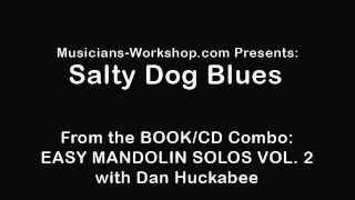 Salty Dog Blues Mandolin Lesson