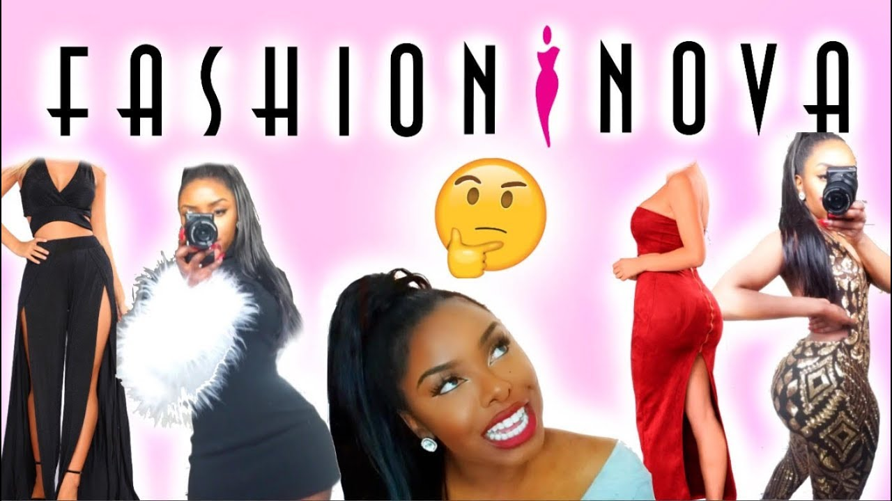 49e8dbf4148b EXTRA AF FASHION NOVA TRY-ON HAUL