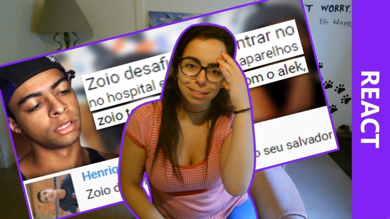Download React a OS COMENTÁRIOS DO ZOIO NÃO SÃO MAIS OS MESMO!!