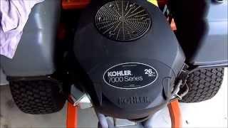 Kohler 7000 Series Air Filter Change