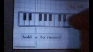 NDS Homebrew - Sampling Keyboard