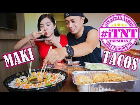 Tacos And California Maki Mukbang