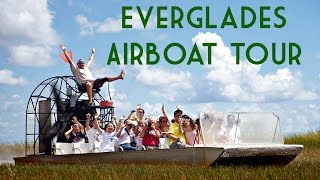 Everglades Airboat Tour - Everglades Safari Park, Miami, FL