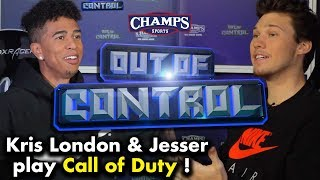 Kris London and Jesser Battle in New Call of Duty for Laundry Duty | Out of Control