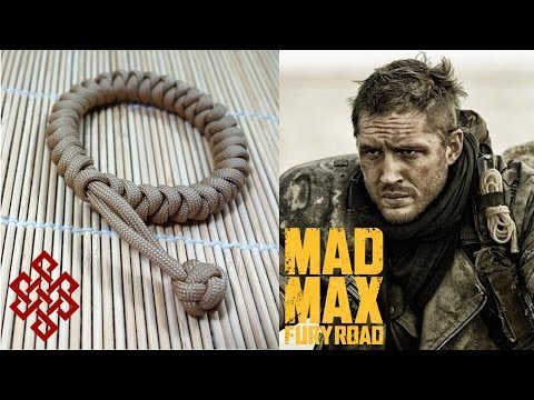 How To Make Mad Max Snake Knot Paracord Celet Tutorial