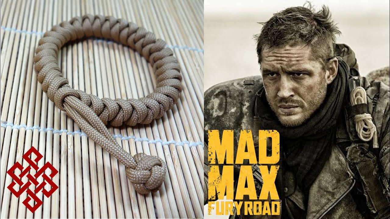 How To Make A Mad Max Snake Knot Paracord Bracelet