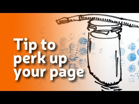 Draw Tip Tuesday: Perk Up Your Page