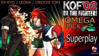 [TAS] KOF2002OMG v.0.8 (ARC Rom Hack) Orochi Iori / Ex-Kyo / Final Leona (Team-Play)