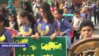 بالفيديو  .. أطفال المتحف المصري'متحدون مع التراث'بشهادة اليونسكو