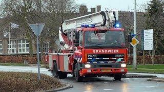 01-01-2018 Brandweer ingezet voor brand op zolder van woning Stadsweg Lauwerzijl