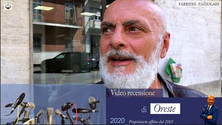 [ ⭐️⭐️⭐️ Video intervista/recensione di Oreste ]
