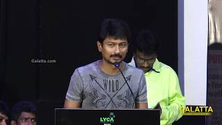 My first ever action, so much injuries and pain   Udhayanidhi at Ippadai Vellum Meet