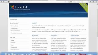 Instalación Joomla 2.5 en Hosting y colocar imagen sitio en construcción(, 2012-04-05T05:15:28.000Z)