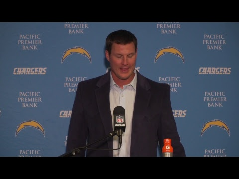 Chargers LIVE: Philip Rivers addresses the media.