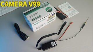 Camera quay lén siêu nhỏ v99 - Công dụng sản phẩm camera siêu nhỏ v99 FULL HD 4K