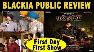 Blackia | Public Review | Dev Kharoud, Ihana Dhillon | Latest Punjabi Movies |