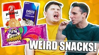TRYING SNACKS FROM AROUND THE WORLD 3!