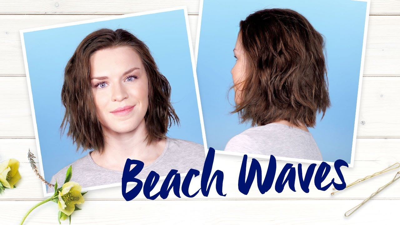Beach Waves Nivea Frisuren Tutorial
