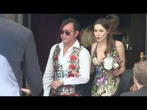EXCLUSIVE - Extravagant billionaire Stephen Hung and his wife the beautiful Deborah Valdez