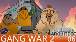 Prison Architect Gang War 2 - Part 6 - Let The Games Begin - Gameplay