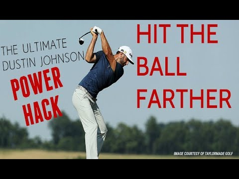 "This ""Power Hack"" Will Let You Drive the Ball Like Dustin Johnson"