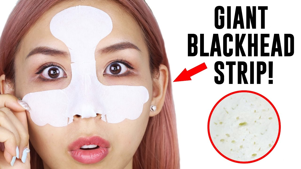 GIANT BLACKHEAD STRIP! – TINA TRIES IT